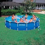 Каркасный бассейн Intex Metal Frame 28236 (457x122 см.) фото