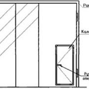 Ворота складчатые ВРС 4,2х4,2-УХЛ1 фото