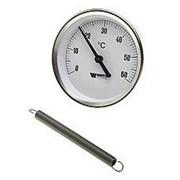 Термометр накладной с пружиной Watts (Ваттс), 0-120° фото