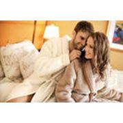Халат для дома женский и мужской фото
