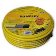 Шланг поливочный проффесиональный Sunflex d-1/2 - (50м) (3-слойн.) WMS1/250 фото