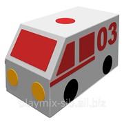 Контурная игрушка Фургон Скорая помощь ДМФ-МК-01.23.04 фото