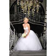 Пышное свадебное платье фото