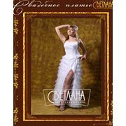 Короткие пышные классические свадебные платья фото