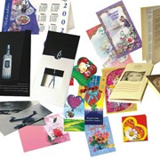 Печать листовой полиграфической продукции