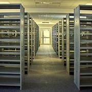 Библиотечные стеллажи фото