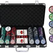 Покерный набор на 300 фишек с номиналом ГД6 - 300 фото