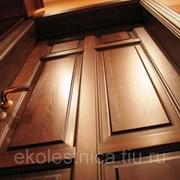 Двери из дуба фото