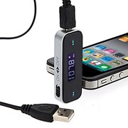 QP0027 FM-модулятор, Remote, Чёрный фото