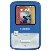 Фоторамка цифровая SanDisk SDMX22-004G-E46B, МР3 Sansa Clip Zip 4GB Blue (голубой) фото