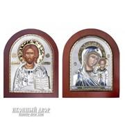 Венчальная Пара Христос И Божья Матерь Казанская Код товара: ОGOLD фото