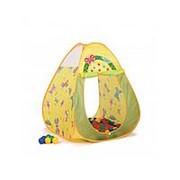 Игровая палатка Bony Бабочки + 100 шаров фото