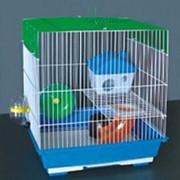 Клетка для грызунов HOMеZOO №5 цинк (35*28*38) (1*12) нк-006 фото