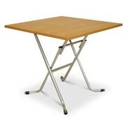Стол складной СБ-02/800*800 ламинат,вишня фото