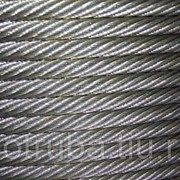 Канат (Трос) стальной нержавеющий 1,8 мм 12Х18Н10Т ГОСТ 2172-80 смазка А фото