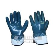 Перчатки нитриловые КП обливные /крага/ Алёнка фото