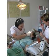 Лечение кариеса зубов фото