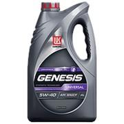 Масло полусинтетическое Лукойл Genesis Universal 5w40 4л, SN/CF ACEA A3/B4 фото