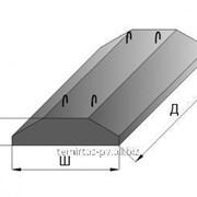 Плита железобетонные ленточных фундаментов ФЛ 14.12-2 фото