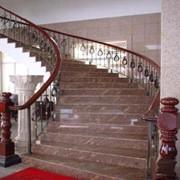 Лестницы из гранита производство на заказ по Украине и СНГ