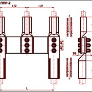 Зажим переходной петлевой ППР-1