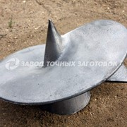 Литые наконечники для винтовых свай НЛ-350/133 фото