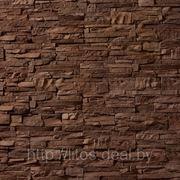 Искусственный камень — СКАЛА 02-790 коричневый фото