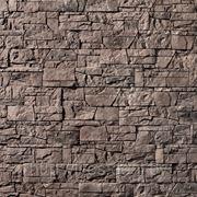 Искусственный камень — Каменная мозаика 11-680, цвет серо-коричневый фото