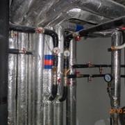 Монтаж и проектирование ИТП. Система отопления, канализации и водопровода. Монтаж и наладка. Трубы ПВХ, чугунные SML безраструбные фото