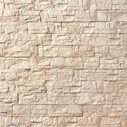 Искусственный камень — Каменная мозаика 11-010, цвет слоновая кость фото