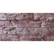 Камень декоративный искусственный «Колорадо» -Бордо фото