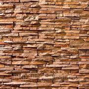 Искусственный камень — «Сланец» 12-671, цвет Светло коричневый фото