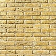 Искусственный камень — Древний кирпич 04-140, цвет желтая глина фото