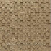 Камень искусственный декоративный МОЗАИКА — светло-бежевый фото