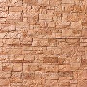 Искусственный камень — Каменная мозаика 11-171, цвет Персик фото