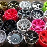 Покраска автомобильных дисков и металлоконструкций фото