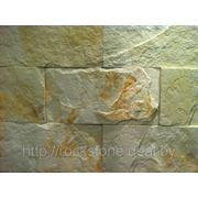 Камень искусственный декоративный ПЛАСТ КРУПНОФОРМАТНЫЙ — белый фото