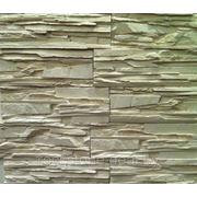 Камень искусственный декоративный ЗЛАТОЛИТ - светло-бежевый фото