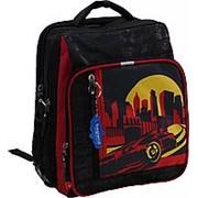 Школьный рюкзак Bagland 'Школьник' черный машина фото