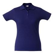 Рубашка поло женская SURF LADY синяя, размер XS фото