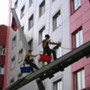 Мойка окон и фасадов зданий фото