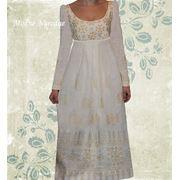 Платье ручной вышивки фото