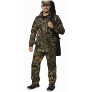 Костюм Охотник-Люкс летний (куртка, брюки) (ткань смесовая) КМФ Дубок фото