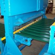 Линия автоматическая для производства профнастила C18 фото