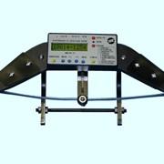 Скобы контроля диаметра колеса цифровые СКДК-ЦБО 650-960 фото