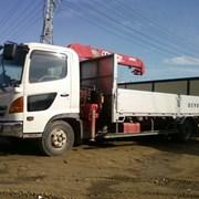 Кран-манипулятор Hino 501 грузоподъемность 8 тонн, кран 3 тонны фото