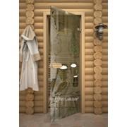 Дверь Арт серия с рисунком ГлассДжет Банька фото