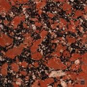 Гранит красный Капустинское месторождение фото