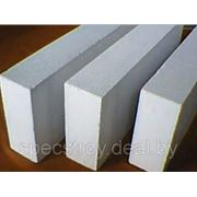 Блок газосиликатный перегородочный 100х200х600 фото
