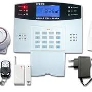 Пожарно-Охранная GSM Сигнализация для дома Волк-007M2B